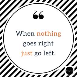 go left