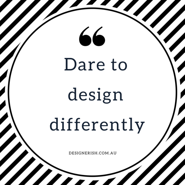 design differently